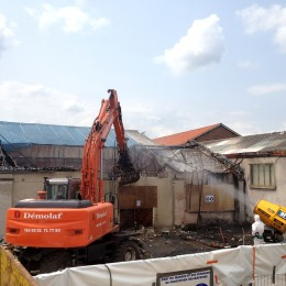Intervention sur bâtiment sinistré
